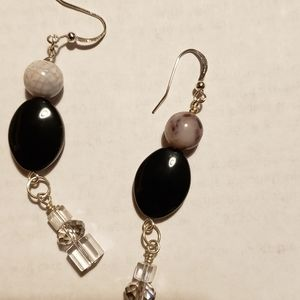 Earrings and Necklace set.